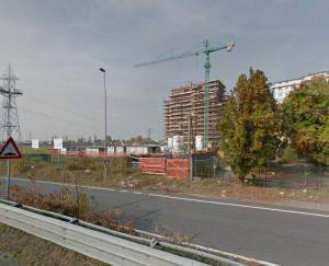 Una desolante immagine del quartiere abbandonato dal Comune