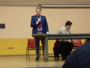 Vito Ancora interviene alla serata