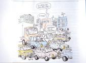 Il traffico a Redecesio