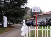 Il Nido e il parcheggio quando era ancora utilizzabile