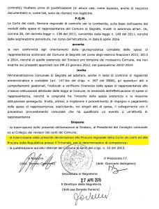 Corte dei Conti Carta di Credito Alessandrini